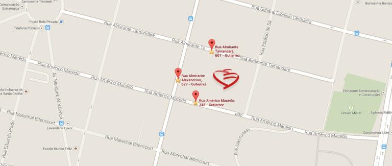 Mapa portarias do Barroca