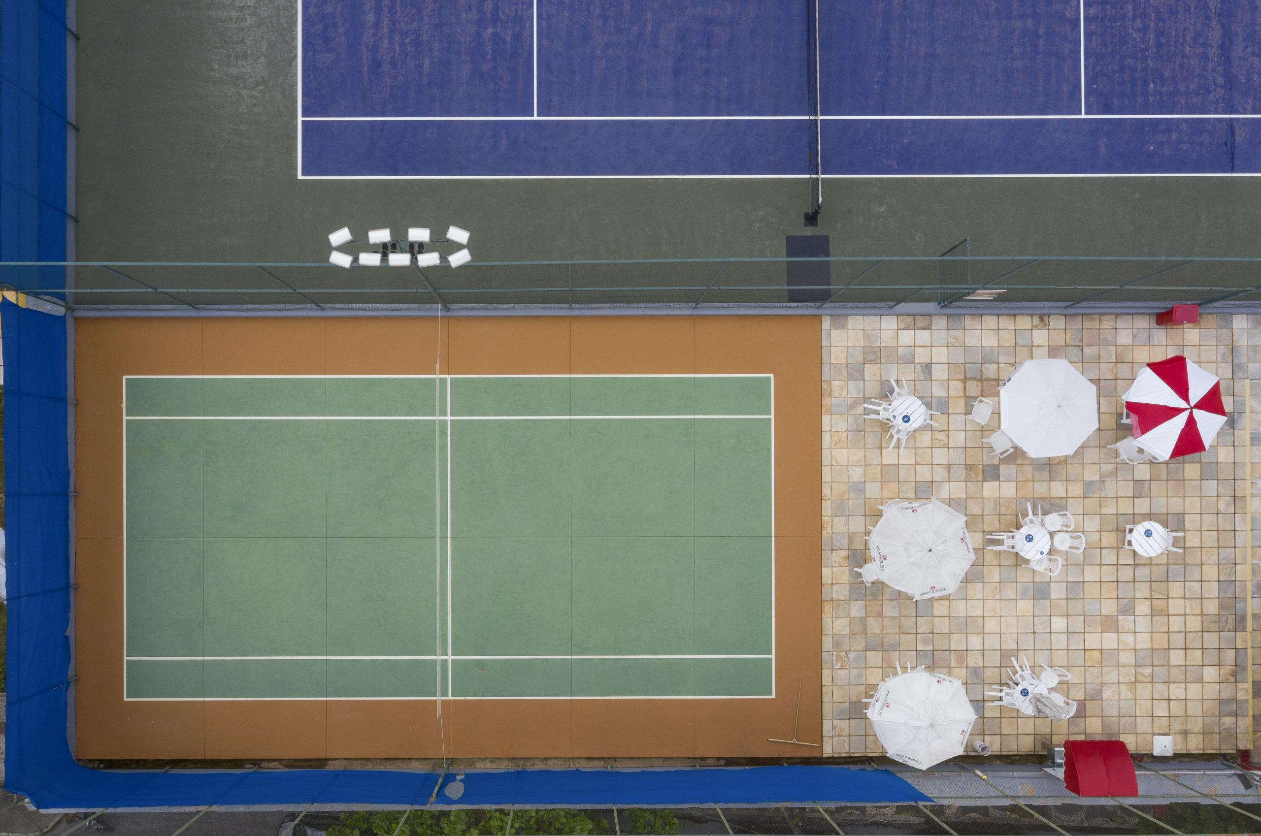 BRASIL / BELO HORIZONTE - 09.02.2021 - Barroca Tenis Clube, em Belo Horizonte, Minas Gerais. © Washington Alves/Light Press